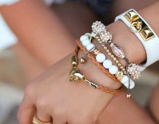 Женские браслеты с актуальным дизайном