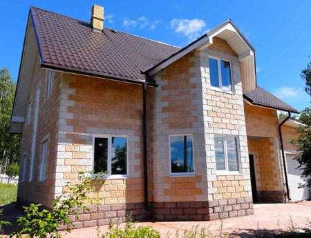 Схема строительства домов из теплоблоков