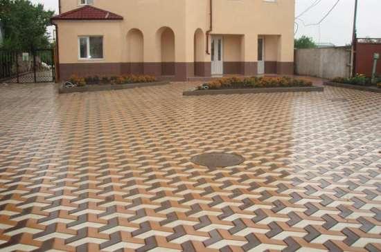 Тротуарная плитка по доступной стоимости