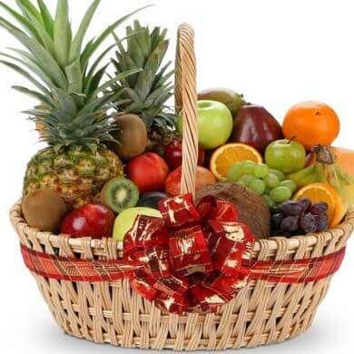 Выгода от фруктовых корзин в подарок
