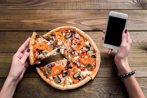 Дистанционный заказ пиццы в Днепре