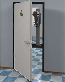 Рентгенозащитные двери с высокой надежностью
