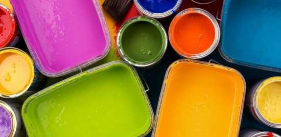 Различные виды краски с бесплатной доставкой