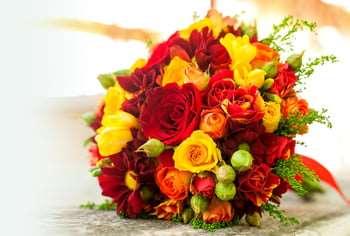 Доставка букетов цветов с фотоотчетами